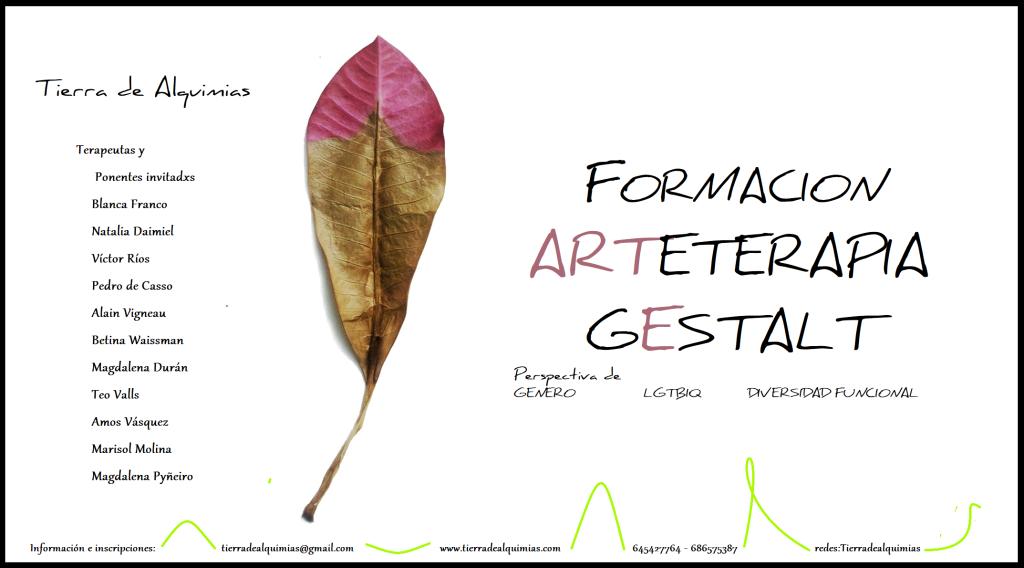 Formación Arteterapia Gestalt